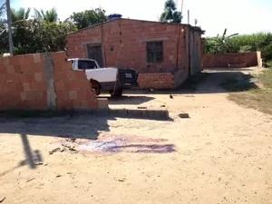 Casa no assentamento Zumbi em 2014 (Foto:Arquivo)