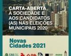 Eleições municipais:  arquitetos propõem soluções para cidades pós-pandemia