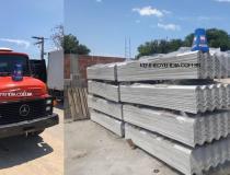 Caminhão furtado é encontrado em Itapemirim; carga de telhas foi localizada em material de construção em Presidente Kennedy