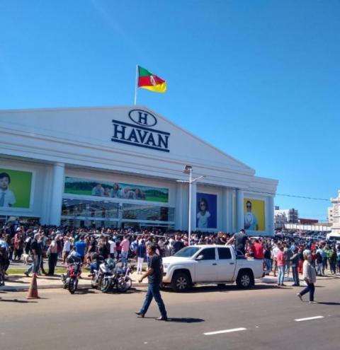 Lojas Havan deseja abrir filial em Cachoeiro