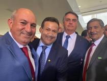 Dorlei participa de evento com a presença de Bolsonaro, em Brasília