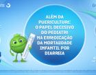 O papel decisivo do pediatra na erradicação da mortalidade infantil por diarreia é tema de live
