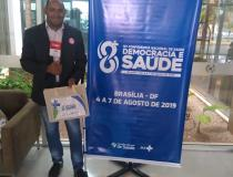 Kenndense participa de Conferência Nacional de Saúde