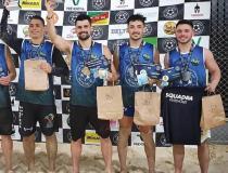 Futevôlei: Kennedense é vice-campeão em torneio no Rio Grande do Sul