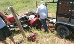 Comerciante sofre acidente motociclístico em Presidente Kennedy