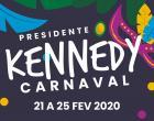 Presidente Kennedy Programação do Carnaval 2020