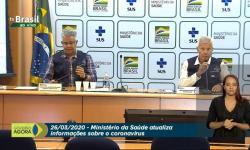 AO VIVO: Ministério da Saúde atualiza boletim epidemiológico sobre Coronavírus