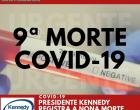 Nono óbito por Covid-19 é confirmado em Presidente Kennedy