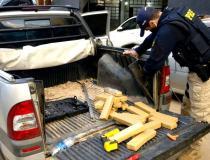 Polícia Rodoviária Federal apreende mais de 60 quilos de maconha na BR-262