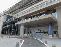 Escolhido como a melhor obra de arquitetura do estado, Hospital de Urgência de São Bernardo conta com mais de 500 leitos exclusivos para Covid-19