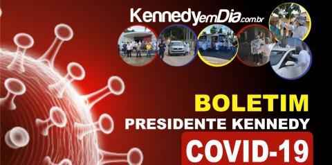 Veja os números da COVID-19 em Presidente Kennedy - 16 de setembro