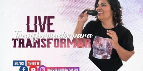 Cantora Raquel Corrêa promove live em Presidente Kennedy
