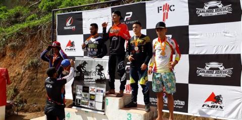 Atleta kennedense conquista o 3º lugar do campeonato mineiro de BMX