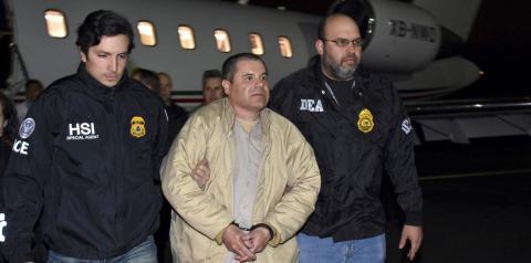 El Chapo é sentenciado à prisão perpétua nos EUA