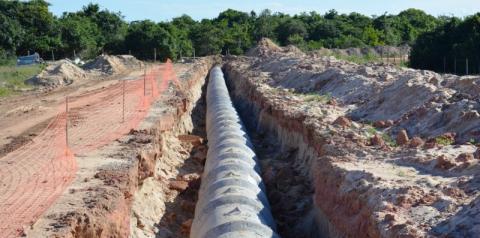 Prefeitura faz projetos para levar água e esgoto tratados para todo o município