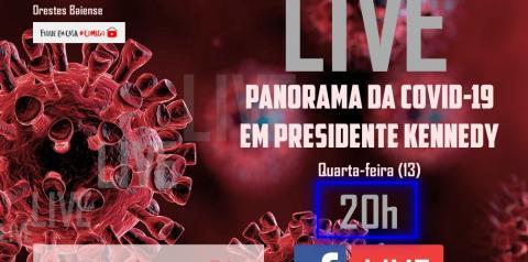LIVE: Panorama da COVID-19 em Presidente Kennedy