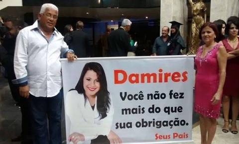 Os 15 minutos de fama de Damires Machado