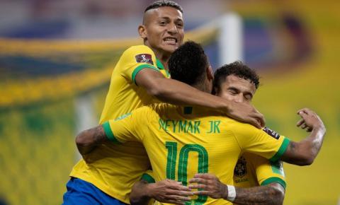Seleção estreia nas Eliminatórias com goleada de 5 a 0 sobre a Bolívia