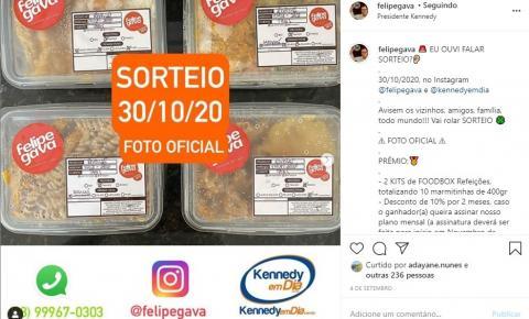 Kennedy em Dia e Felipe Gava sorteiam prêmios para seguidores no Instagram nesta sexta (30); Participe!