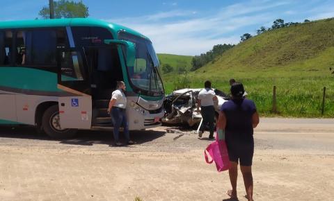 Mulher envolvida em acidente, na ES-162, recebe alta de hospital