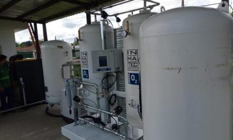 Amazonas recebe usinas de oxigênio para apoiar o atendimento da COVID-19 em 460 leitos