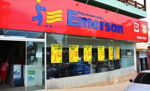 Supermercado Emerson vai abrir na semana que vem e informa estoque normal de produtos
