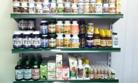 Drogaria Litorânea tem a maior variedade de produtos naturais