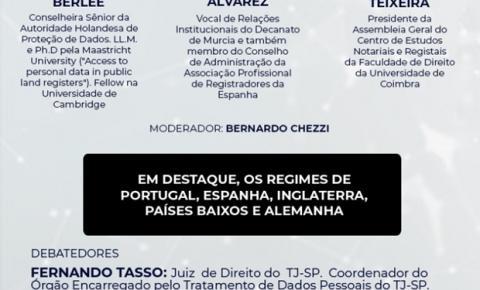 IBRADIM faz Seminário Internacional de Proteção de Dados nos Registros Imobiliários