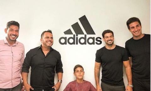 Kennedense Sonny Anderson é o novo atleta patrocinado pela Adidas