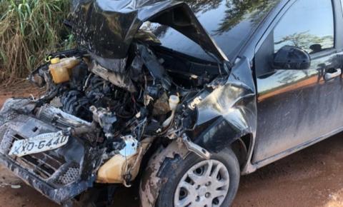 Acidente envolvendo caminhão e carro é registrado entre Jaqueira e Campo Novo em Presidente Kennedy