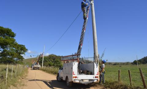 Prefeitura instala 21 novos pontos de iluminação pública na comunidade de Campinas