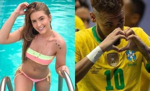 Neymar leva capixaba, ex de Arthur Picoli, para assistir final da Copa América
