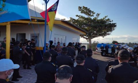 Polícia Militar do Rio de Janeiro inaugura batalhão na divisa ES x RJ; Vereador kennedense participou da cerimônia.