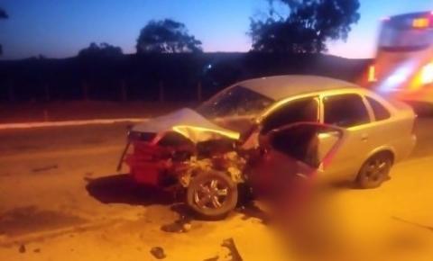 Motorista morre na hora em grave acidente na ES-060 em Presidente Kennedy