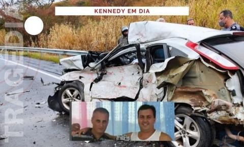 Tragédia: Irmãos kennedenses morrem após carro colidir com caminhão