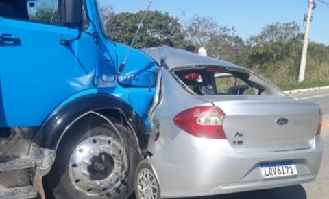 Sobe para 3 o número de mortos em grave acidente na Rodovia Cachoeiro X Safra; Veja vídeo do momento do acidente