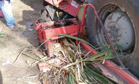 Trabalhador tem perna amputada após acidente com máquina agrícola, em Santo Eduardo