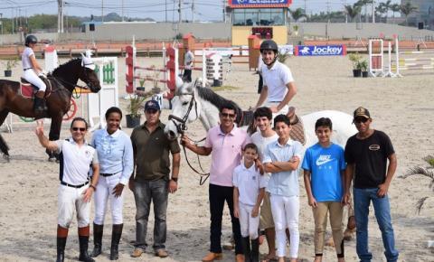 Cachoeirenses sagram-se campeões na III etapa do ranking de Hipismo