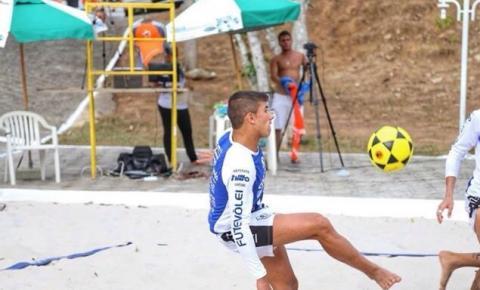 Kennedense disputará campeonato internacional de futevôlei