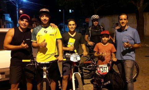 Ciclistas kennedense promovem ação solidária para o atleta Nivaldo Júnior