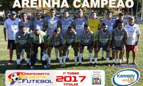 Areinha no Titular e Marobá no Aspirante são os Campeões do 1º turno do Municipal 2017