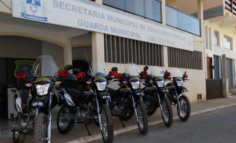 Prefeitura de Kennedy entrega cinco novas motos para a Guarda Municipal