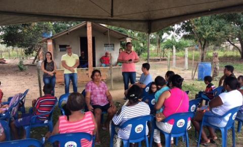 Equipe Volante do CRAS realiza ação na localidade de Campinas