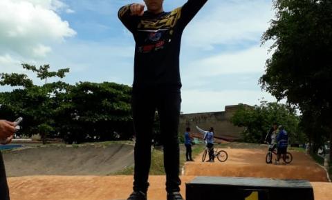 Rodrigo Porto conquista a segunda colocação no BMX no campeonato Carioca