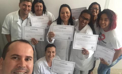 Pronto Atendimento Municipal realiza capacitação de servidores de enfermagem