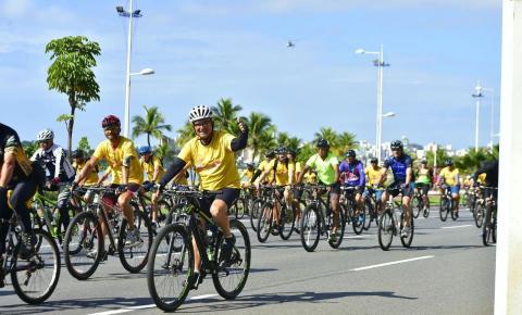 Evento de ciclismo movimenta o fim de semana em Presidente Kennedy