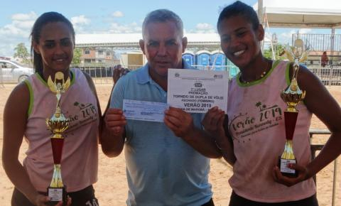 Confira o resultados e imagens do fim de semana de vôlei de praia em Marobá