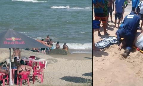 Casal de irmãos morre afogado na Praia da Colônia, em Marataízes