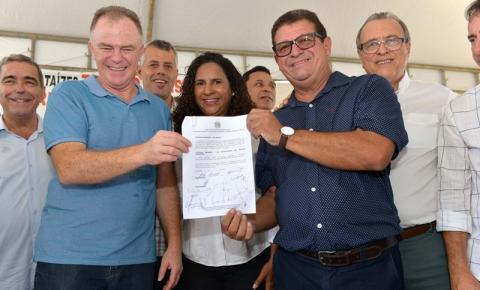Casagrande autoriza investimento de R$ 9,7 milhões para reurbanização de Marataízes
