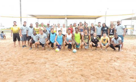 APEFIPAS promove vôlei de praia em Praia de Marobá; Veja fotos